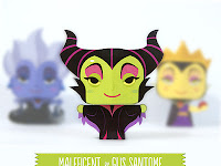 Maleficent - Disney mini papercraft