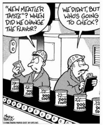 Changes to Dog Food Very Funny Humor Cartoon Jokes