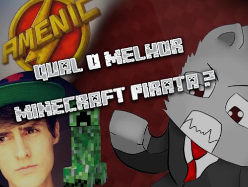 Minecraft Pirata + Youtubers Famosos