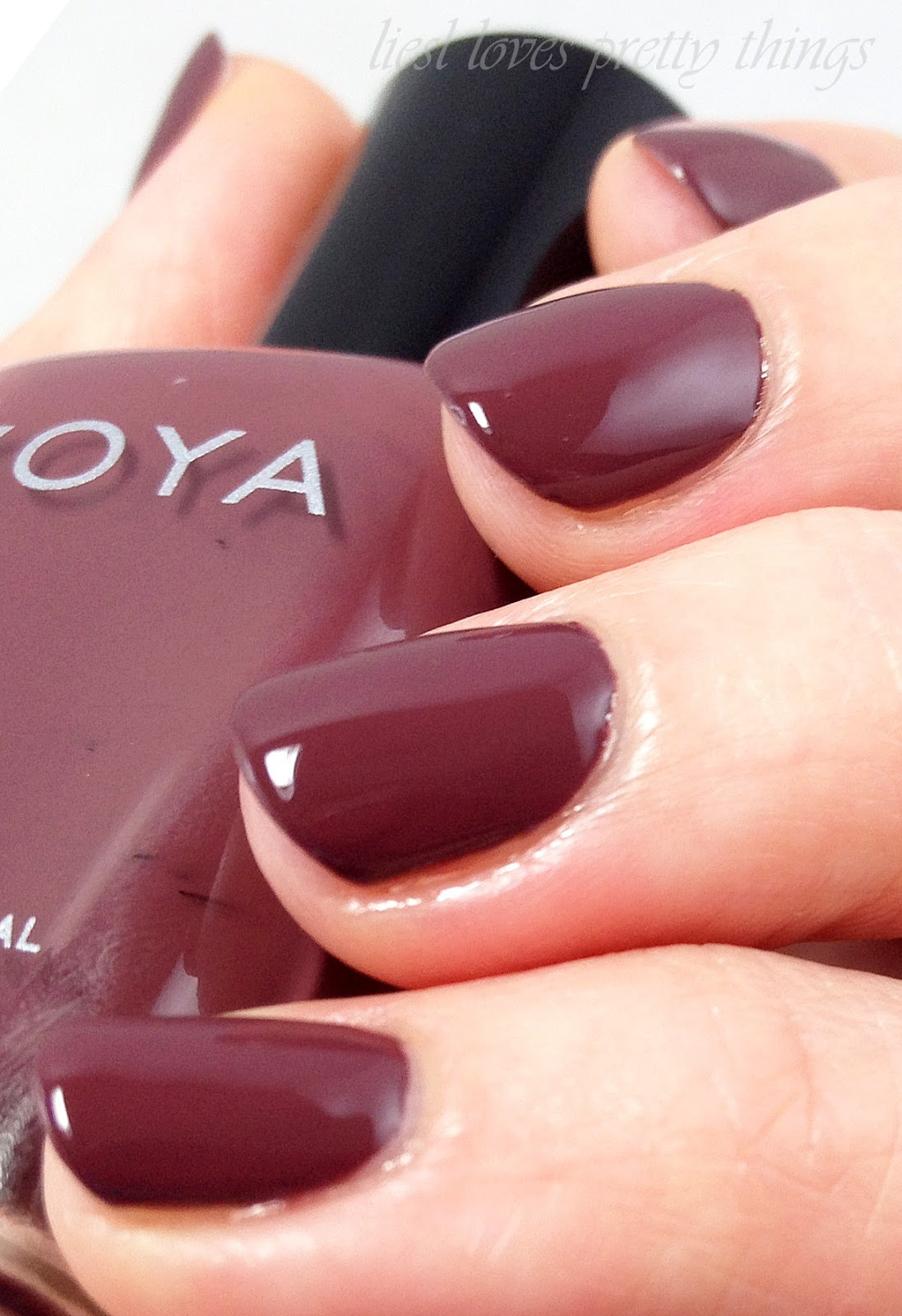 Pantone Color of the Year 2015 Marsala Zoya Marnie