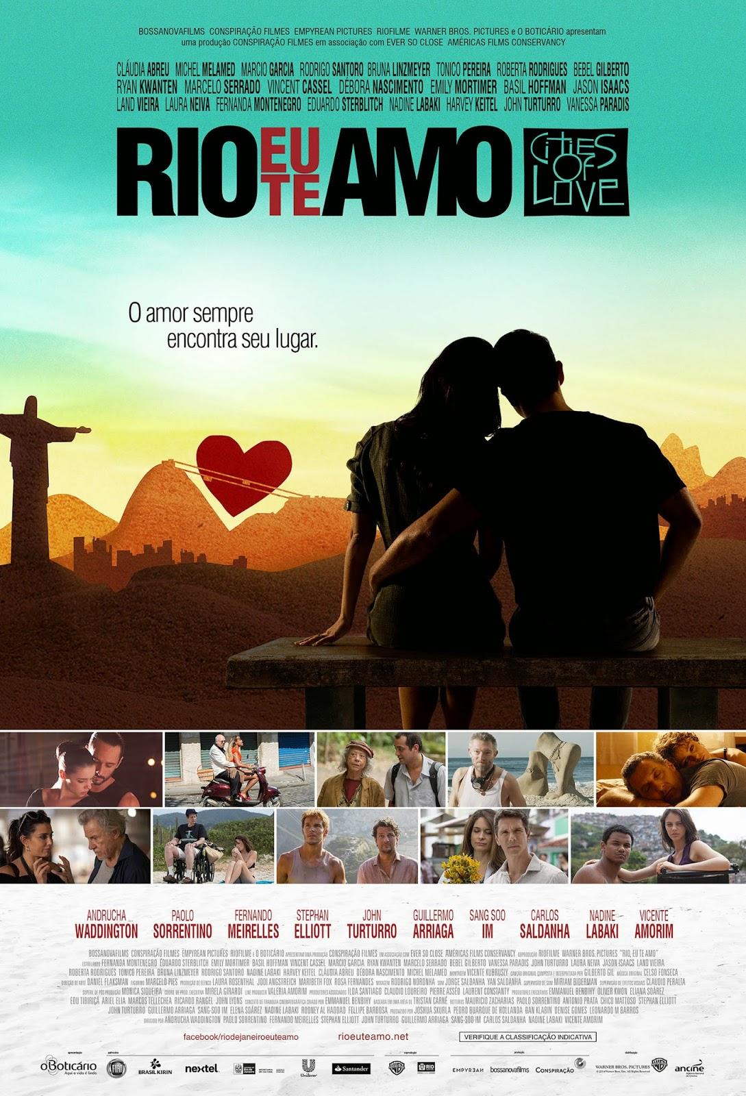"""Poster do filme """"Rio Eu Te Amo"""""""