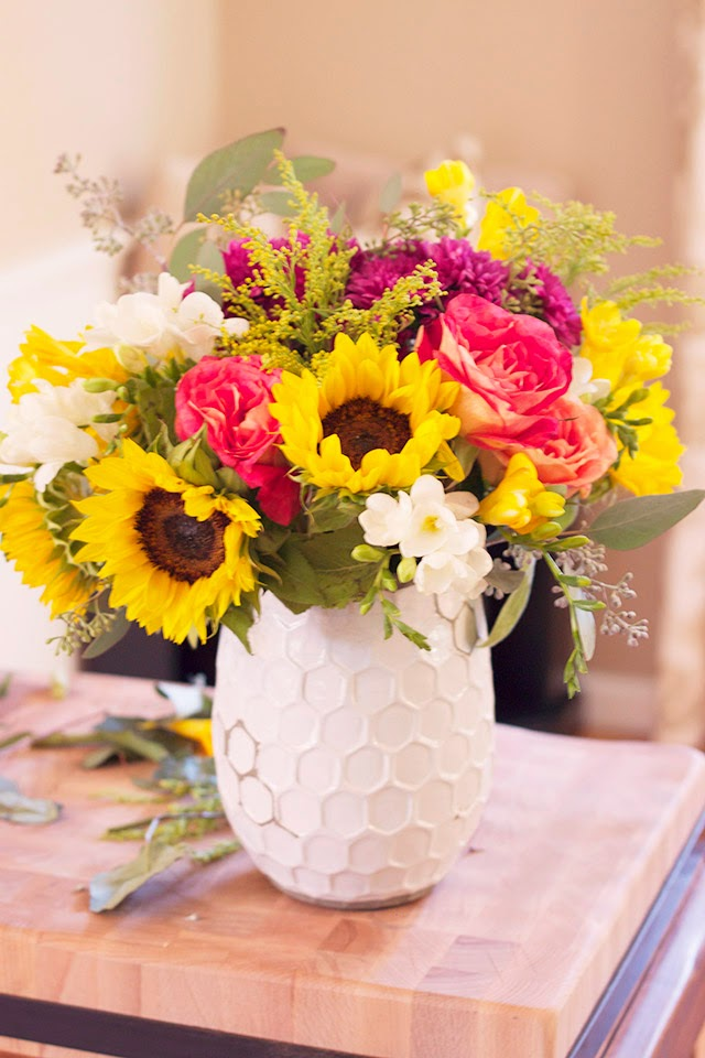 fall decor, fall flowers, sunflowers