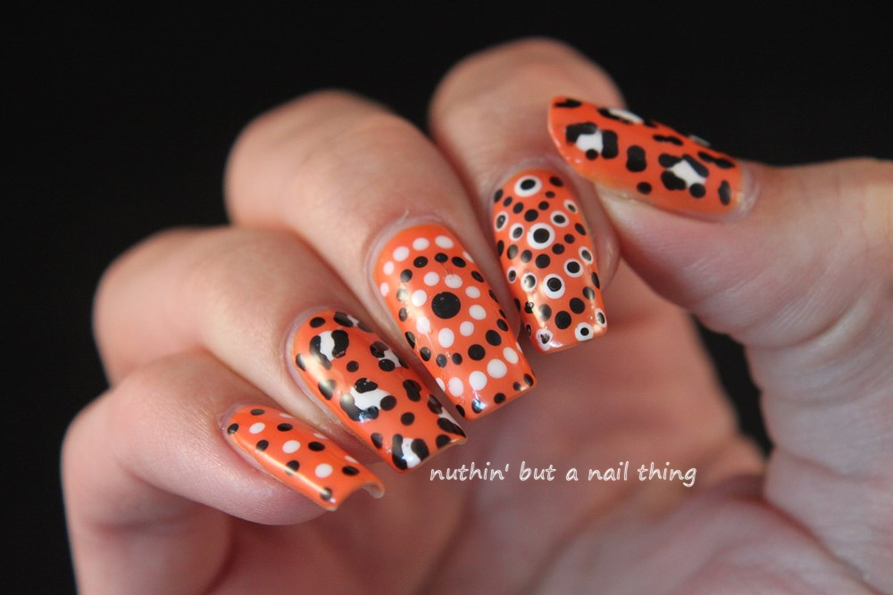 Nuthin But A Nail Thing An Orange Themed Skittle