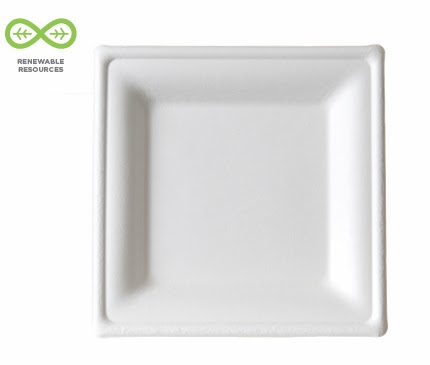 Square Plate by Eco-Products
