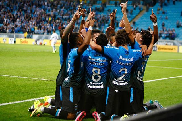 Na Arena, o Grêmio passou pelos reservas do Coxa e avançou na Copa do Brasil (Foto: Lucas Uebel/GFBPA)