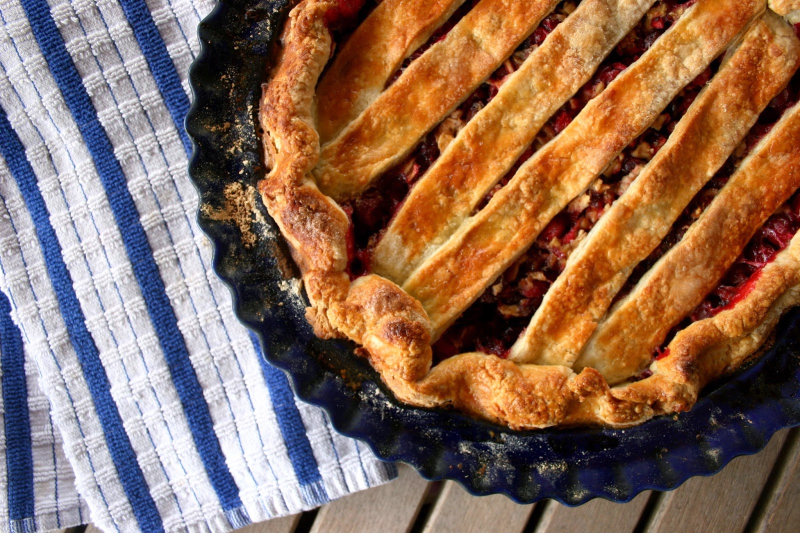 Cranberry Sage Pie from 4 and 20 Blackbirds Pie