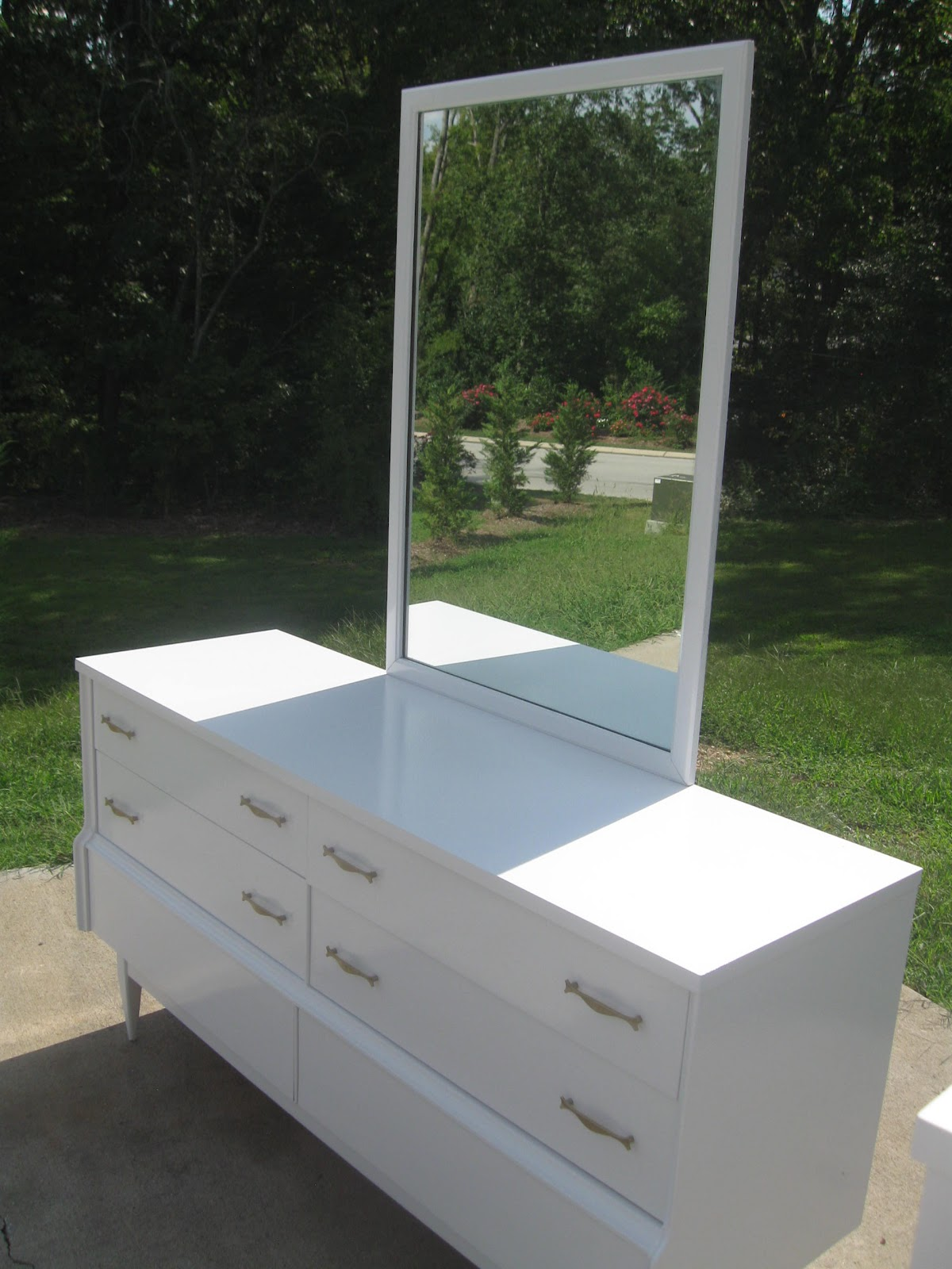 Modern Retro Bedroom Thats Not Junkrefurbished Recycled Furniture Mid Century