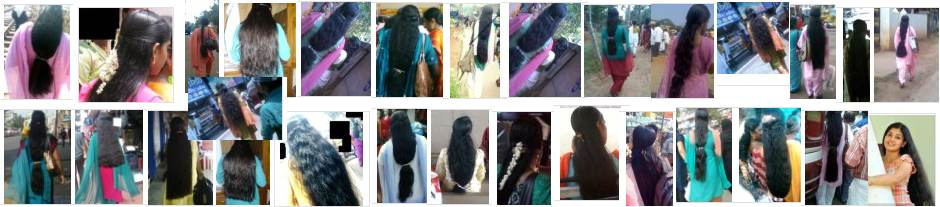 Kerala long hair girls