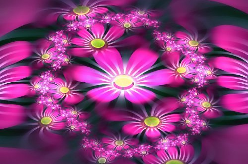 Rica rica wallpapers cool flowers wallpapers pack 2 for Cool floral wallpaper