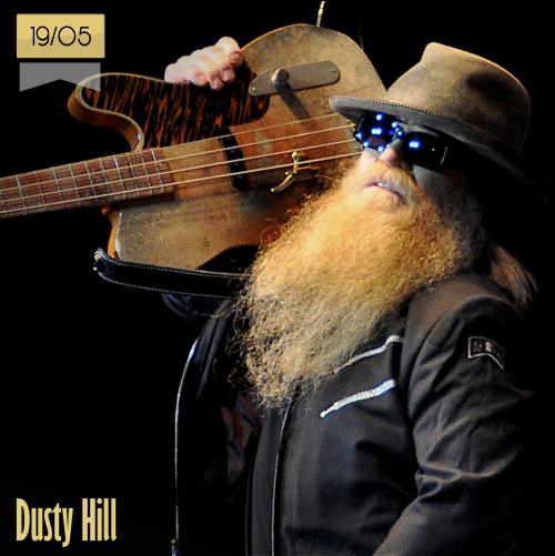 19 de mayo | Dusty Hill - @ZZTop | Info + vídeos