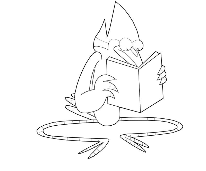 printable-mordecai-read-coloring-pages