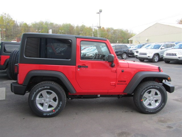 2013 Jeep Wrangler Sport (Color is Rock Lobster)