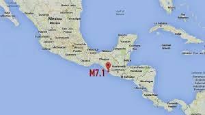 FUERTE TERREMOTO DE 7,1 GRADOS SACUDE MEXICO Y GUATEMALA, 07 de julio 2014