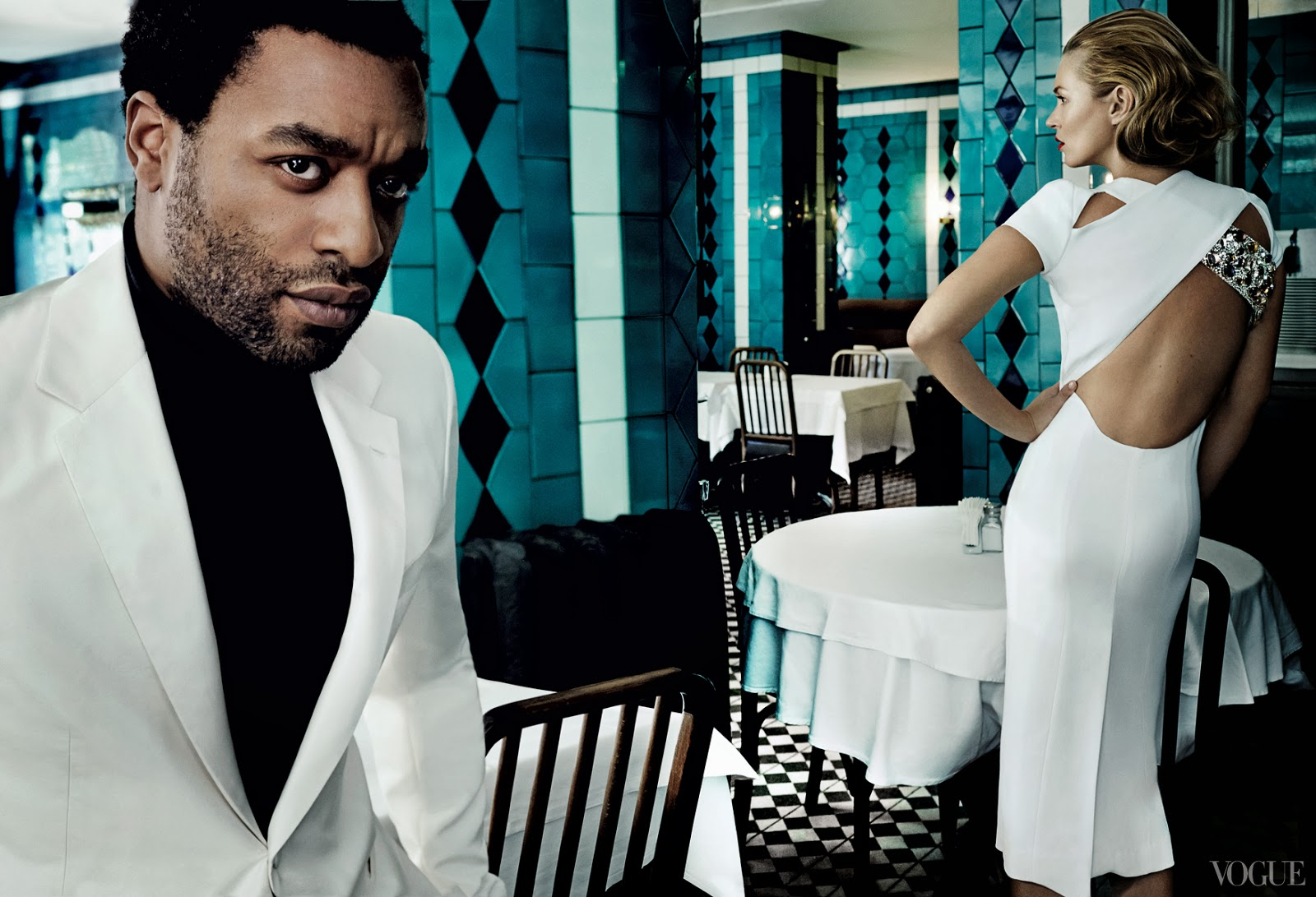 Kate Moss Chiwetel Ejiofor