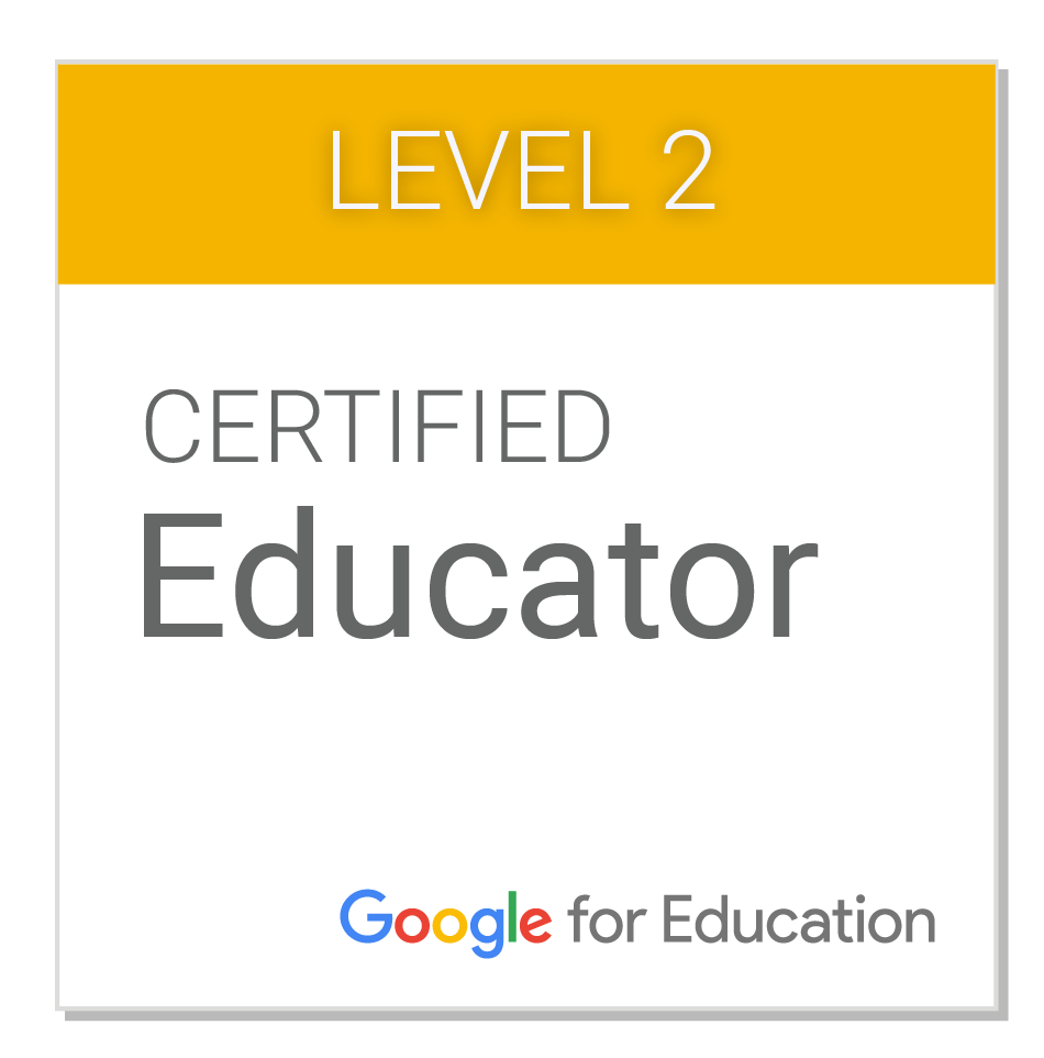 Google Certified Educator 2