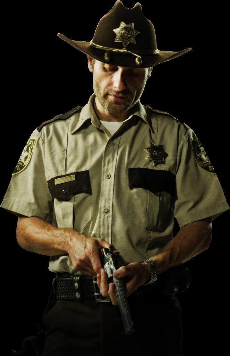 Carpinteria ''El Barto'' Render_Rick_Grimes_The_Walking_Dead