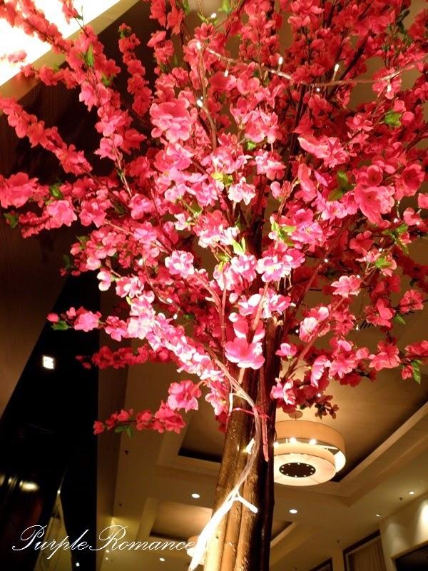 sakura, cherry blossom, tree, tall, wedding, decoration, kuala lumpur, KL, Selangor, decor, package, online, Purple Romance, pink, dark pink, flower, branches, Melaka, Perak