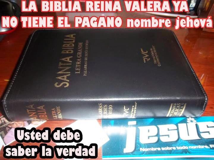 El Matrimonio La Biblia Reina Valera : JesÚs el Único nombre del padre eterno la biblia reina