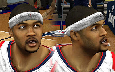 NBA 2K13 Josh Smith Cyberface Patch