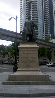 Statue of John Harte McGraw in Seattle