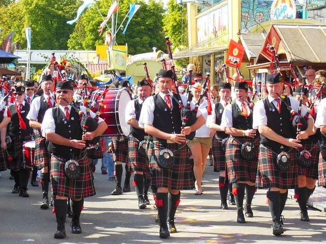 banda escocesa