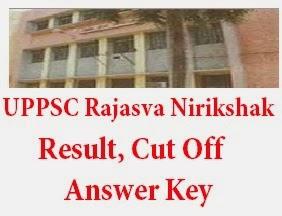 UPPSC Rajasva Nirikshak (Kanungo) Result 2017
