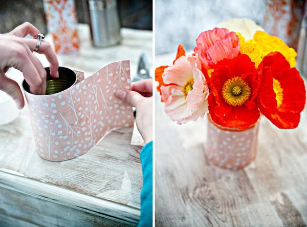 My Wedding Inspirations Diy Tin Can Vases