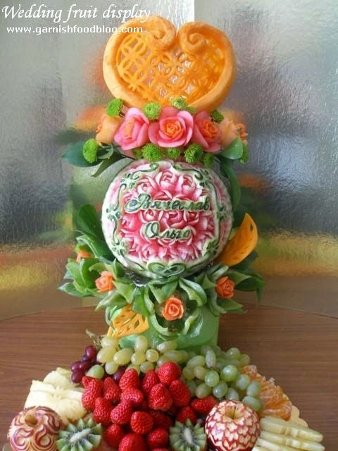 wedding watermelon carving