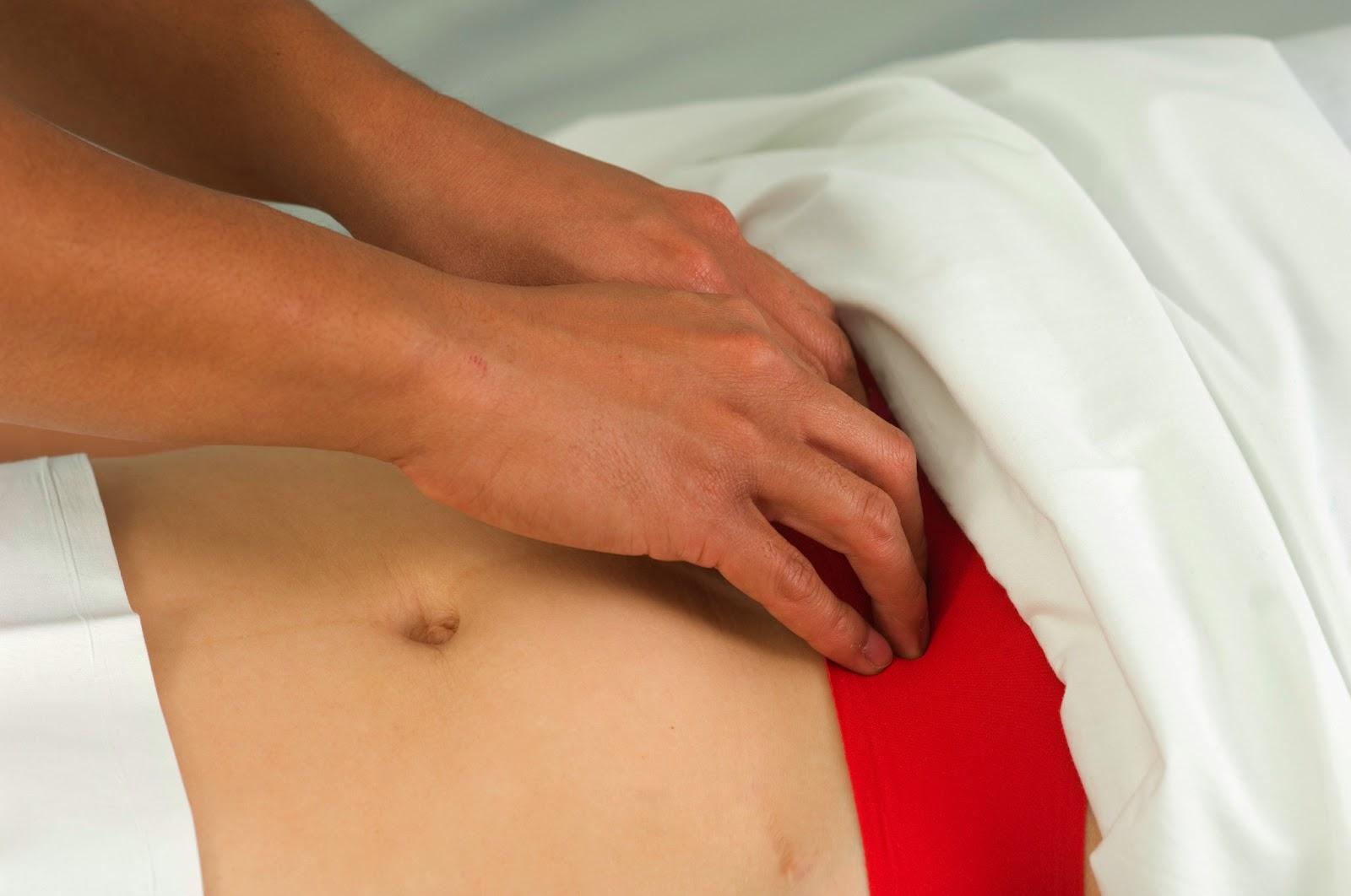 massage belly