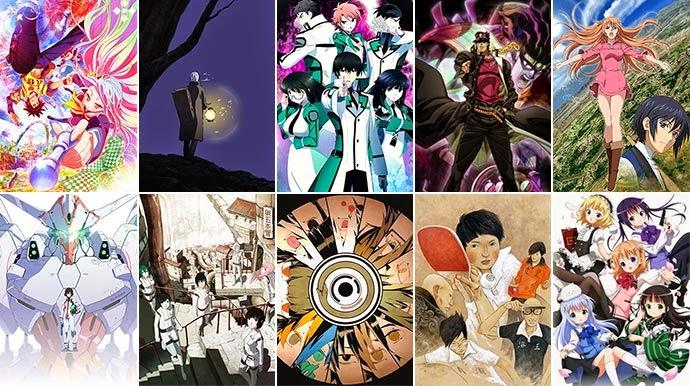 [ Info-Anime ] Top 10 Anime Musim Semi 2014 Terbaik