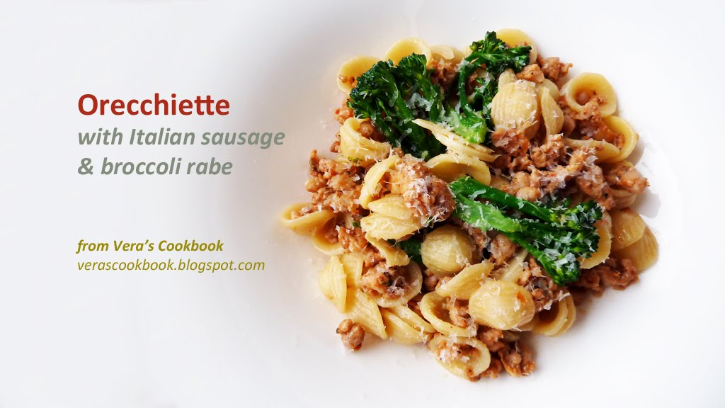 Orecchiette With Chicken Sausage And Broccoli Rabe Recipe ...