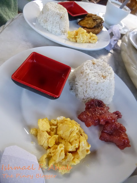 Our breakfast in Haim Chicken Inato