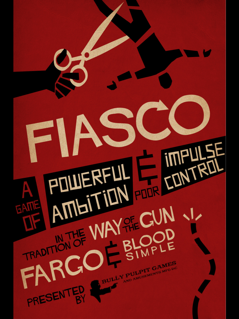 Caen, on joue ensemble ? 5ème édition Fiasco-Back-Cover