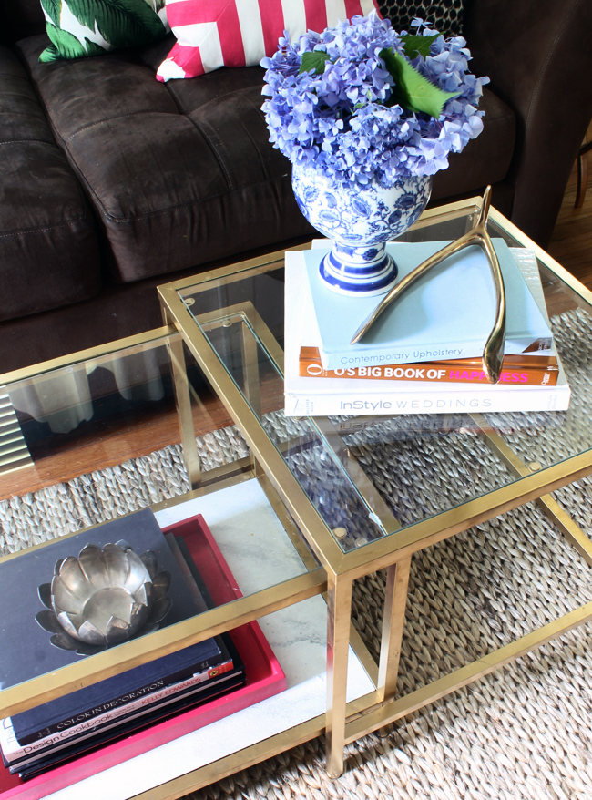 hunted interior Ikea Coffee Table Makeover + Fab Rug Review -> Table Billard Fabrication Ikea