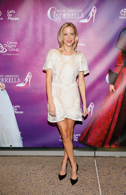 Actress, Model @ Jessy Schram - Rodgers & Hammerstein's Cinderella opening in LA