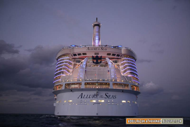 INFO WORLD World Largest Cruise Ship 39Allure Of The Seas39