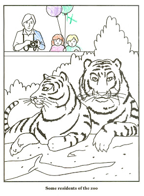 San Diego Zoo Coloring Pages