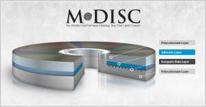 Tvrtka Millenniata M-Disk DVD