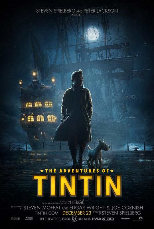 Poster de Tintin: El secreto del unicornio