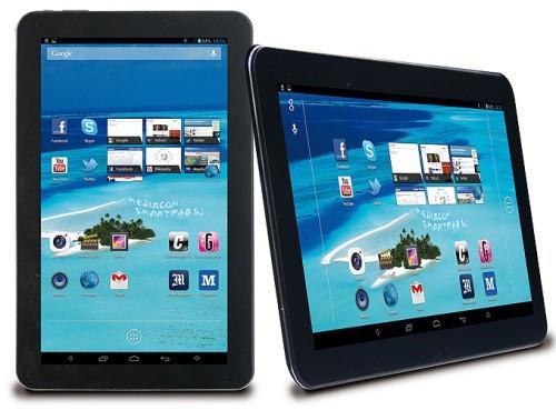 Nuovo tablet android 4.2 da 10 pollici di diagonale per mediacom con nuovo chipset Quadcore A7 Allwinner