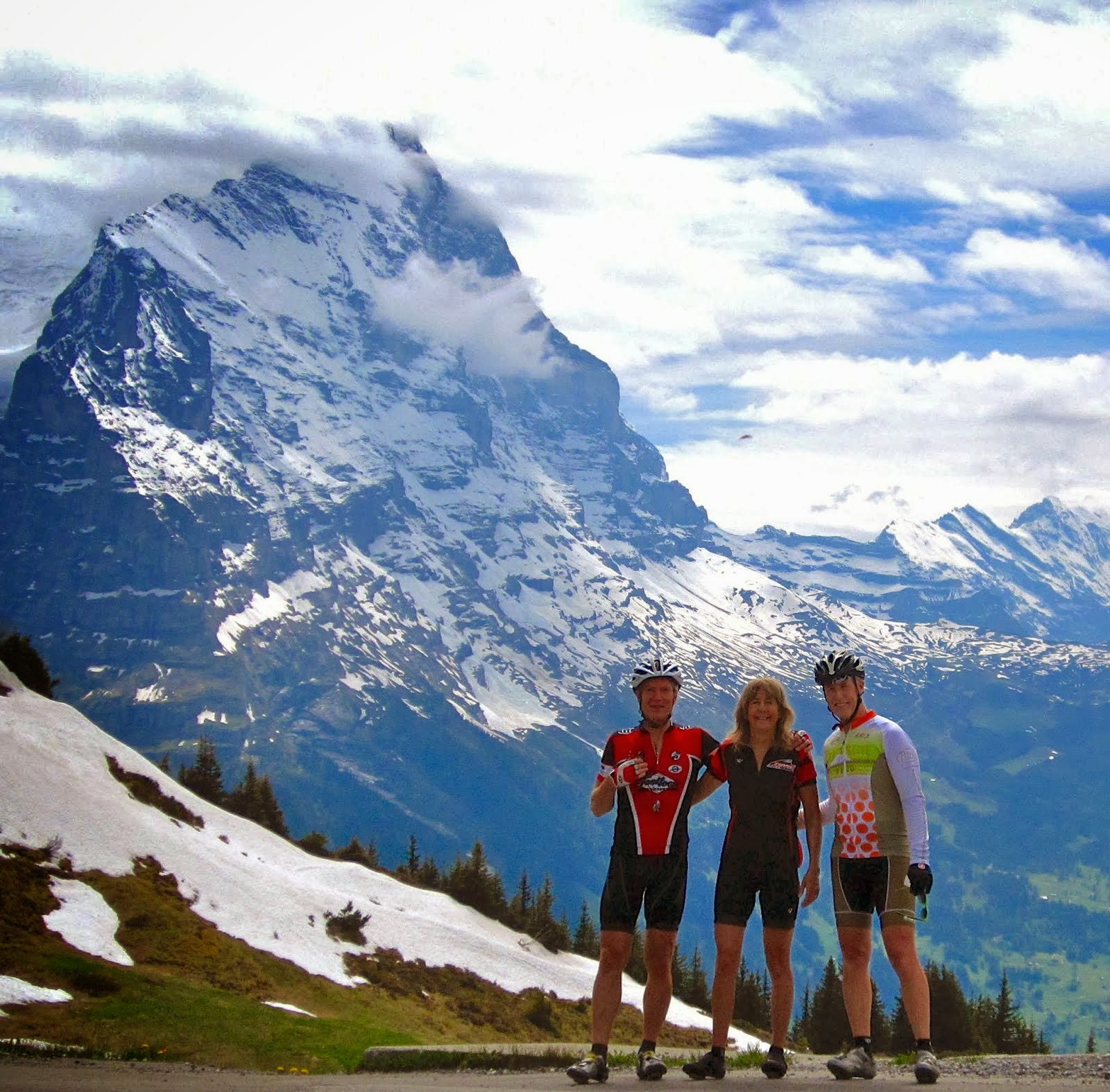 WITH THE EIGER