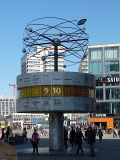 Alexanderplatz, berlin, weltzeituhr