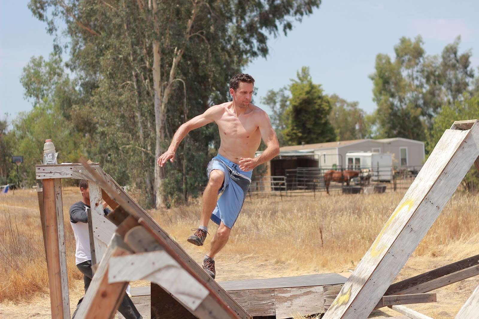 Backyard Ninja Warrior Plans : Central California Ninja Warrior Training Course (CCNWTC) August 2013