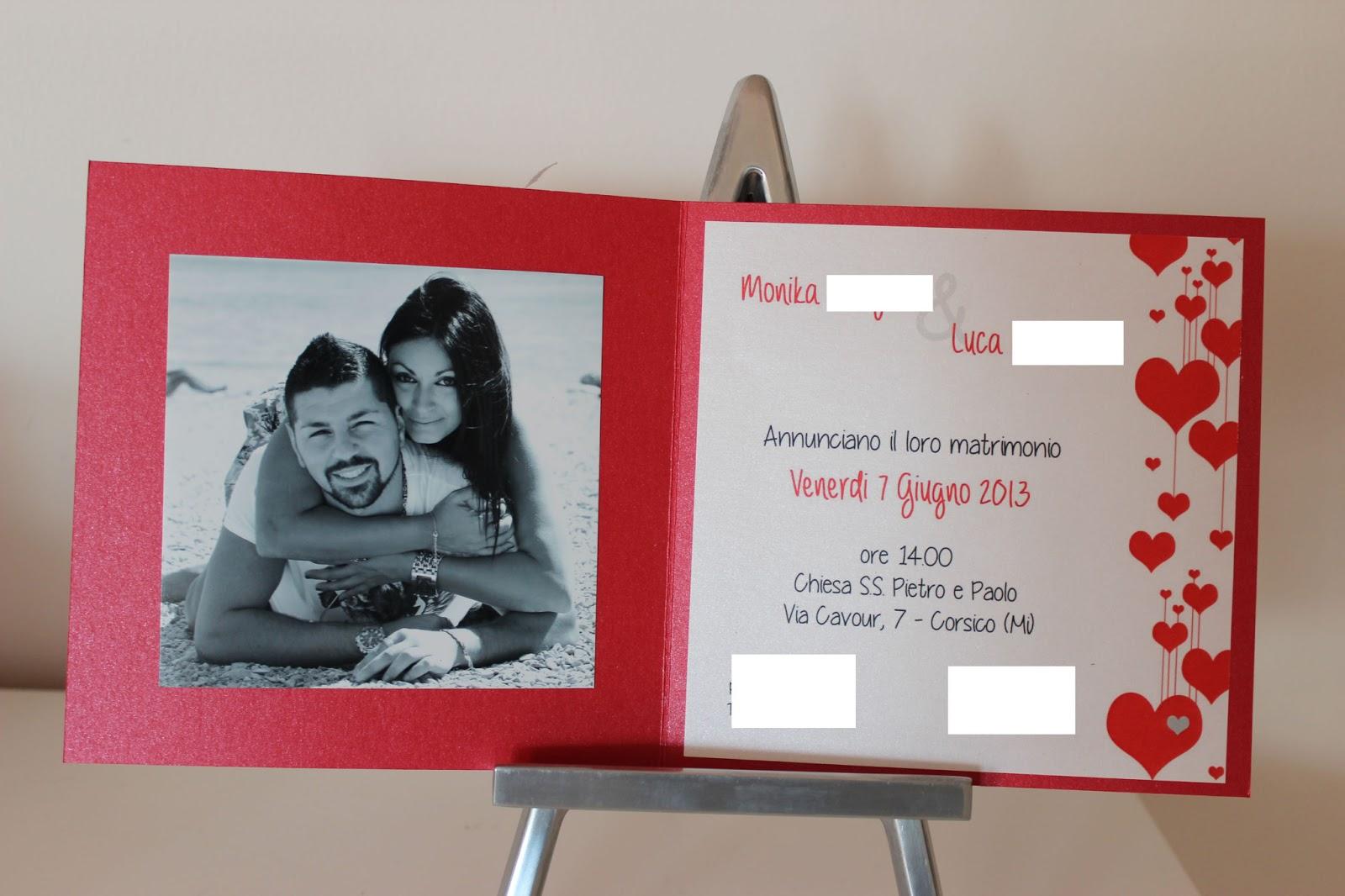 Tema Matrimonio In Rosso : Le creazioni di maichi matrimonio tema rosso e cuori