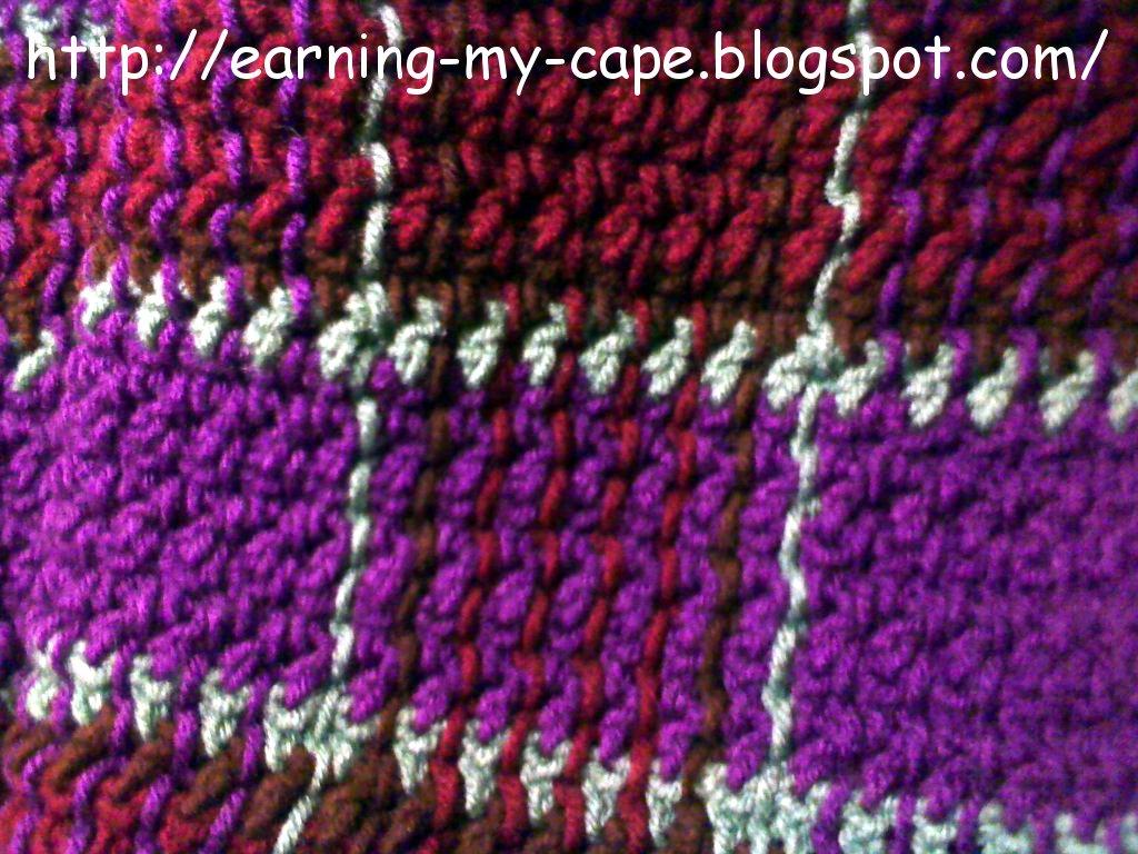Oui Crochet: Crochet Plaid Blanket {Free Crochet Pattern}