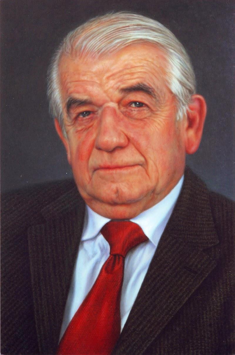 Portrett av professor kjente hjertekirurg