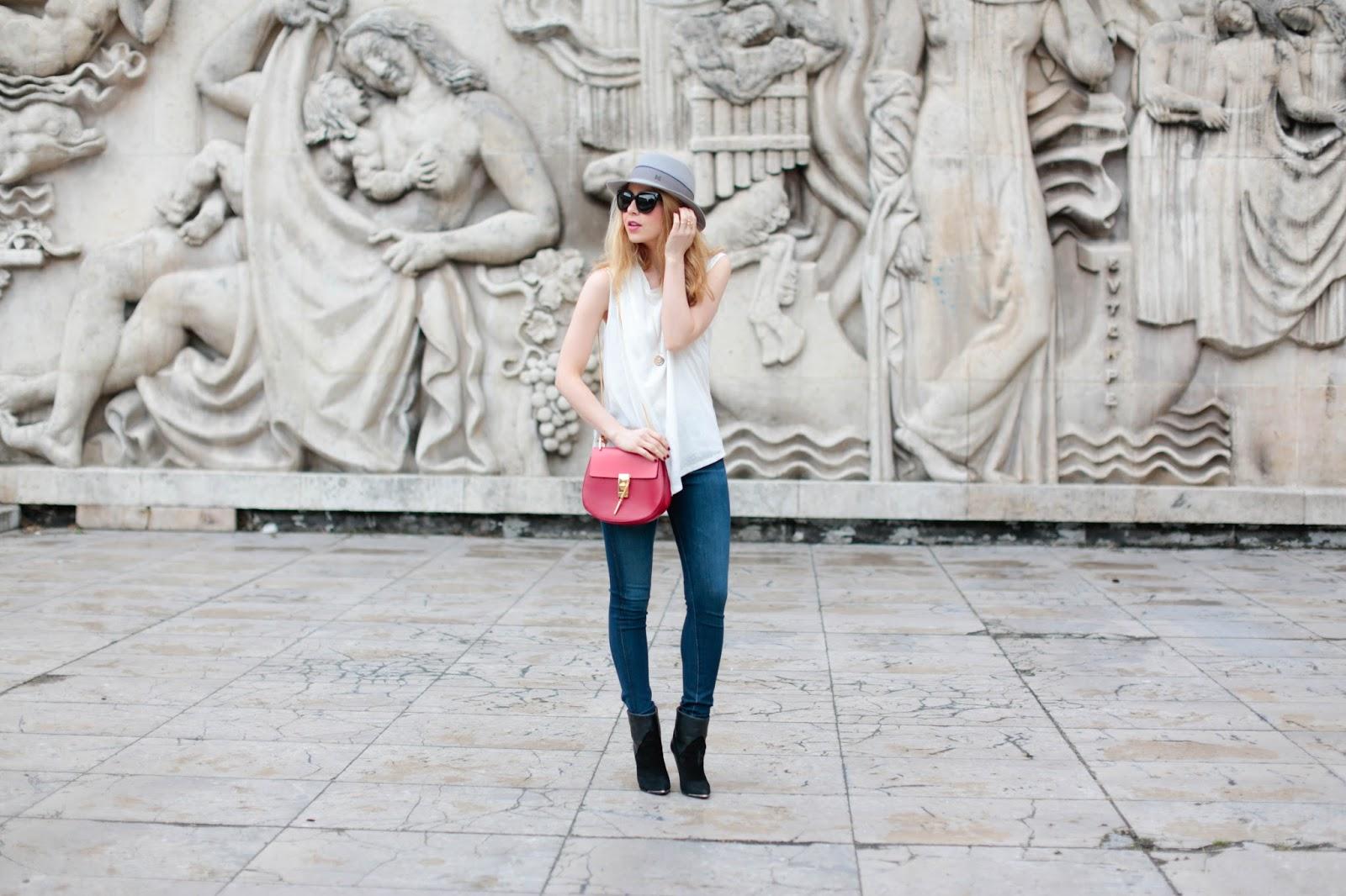 AG jeans, gestuz, iro, chloé, maison michel, streetstyle, paris, pardonmyobsession