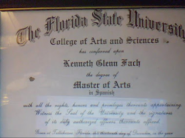 My Master's Degree Diploma