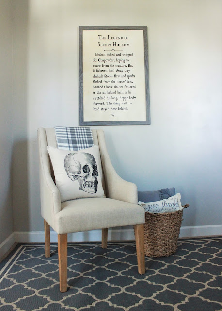 I like big books and I can not lie! Learn how to turn a page from your favorite book into a large piece of wall art. How neat!