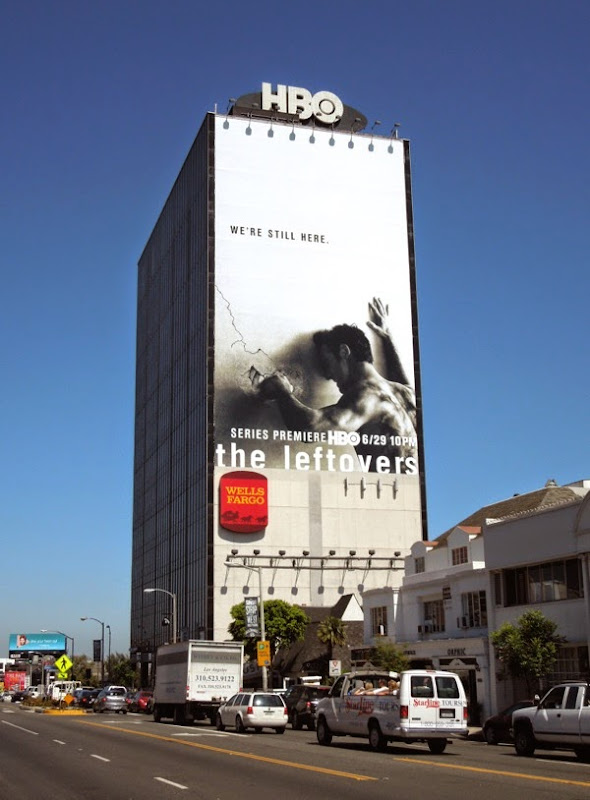 The Leftovers giant series premiere billboard